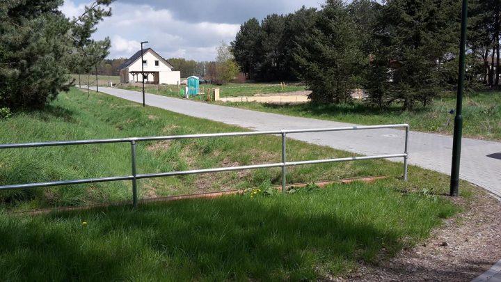 Neuerschließung Sechsrutenweg im Wohngebiet Schulzenaue in Rüdnitz