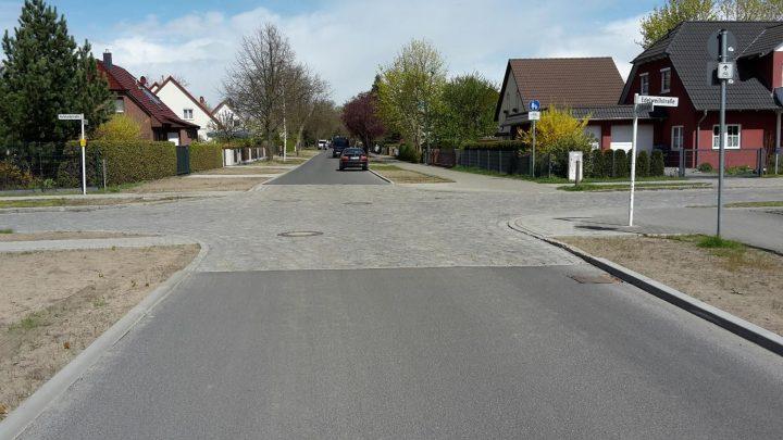 Triftstraße in Panketal, OT Zepernick