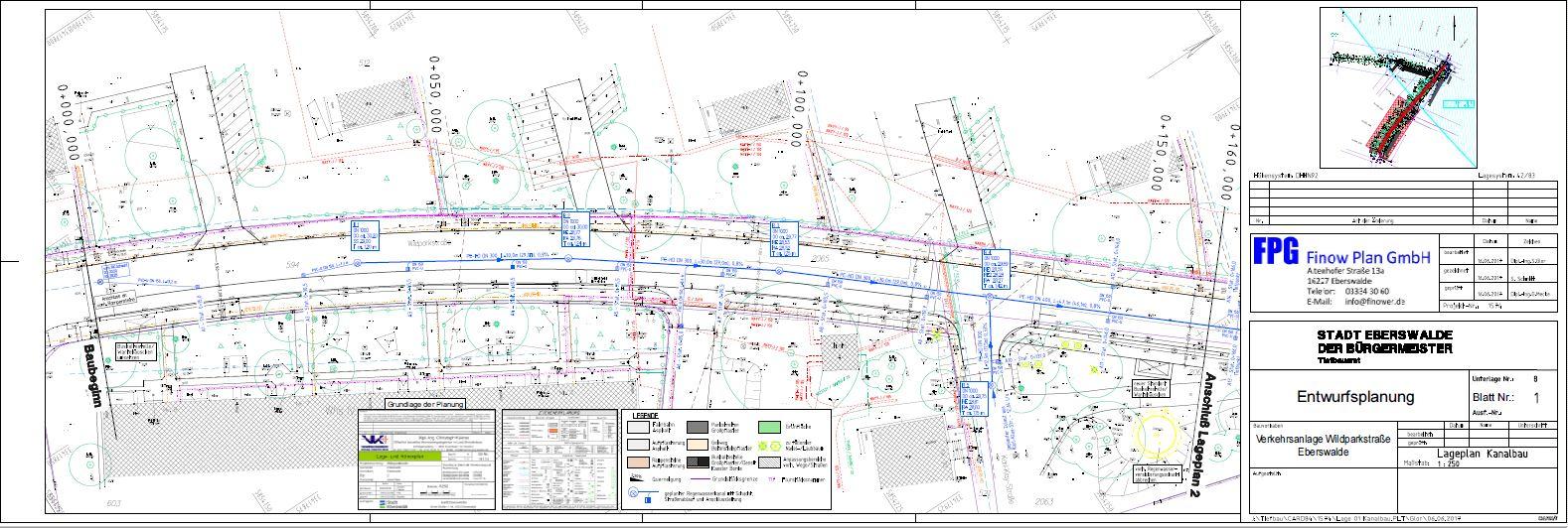 Ausbau der Wildparkstraße in Eberswalde